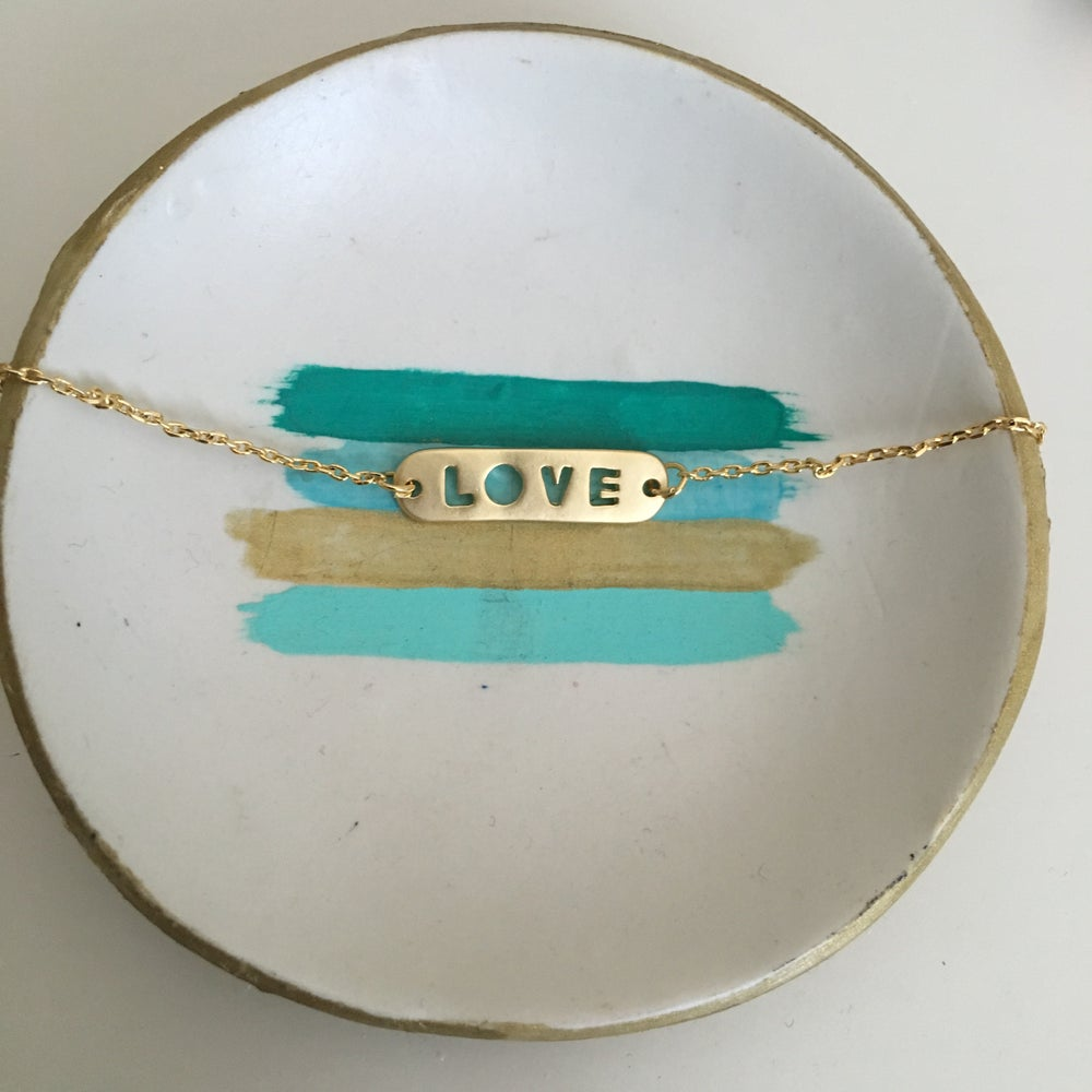 Image of Love chain bracelet