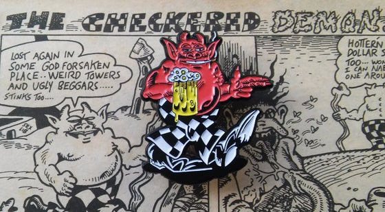 Image of The Checkered Demon Pin Fundraiser