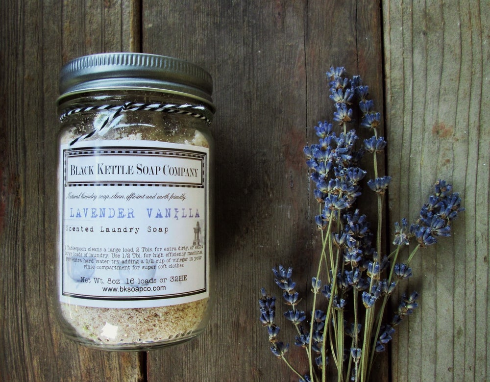 Image of Mason Jar Laundry Soap