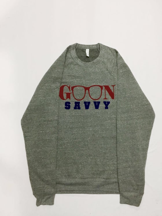 Image of Dark Grey Crew GOON Savvy Sweatshirt