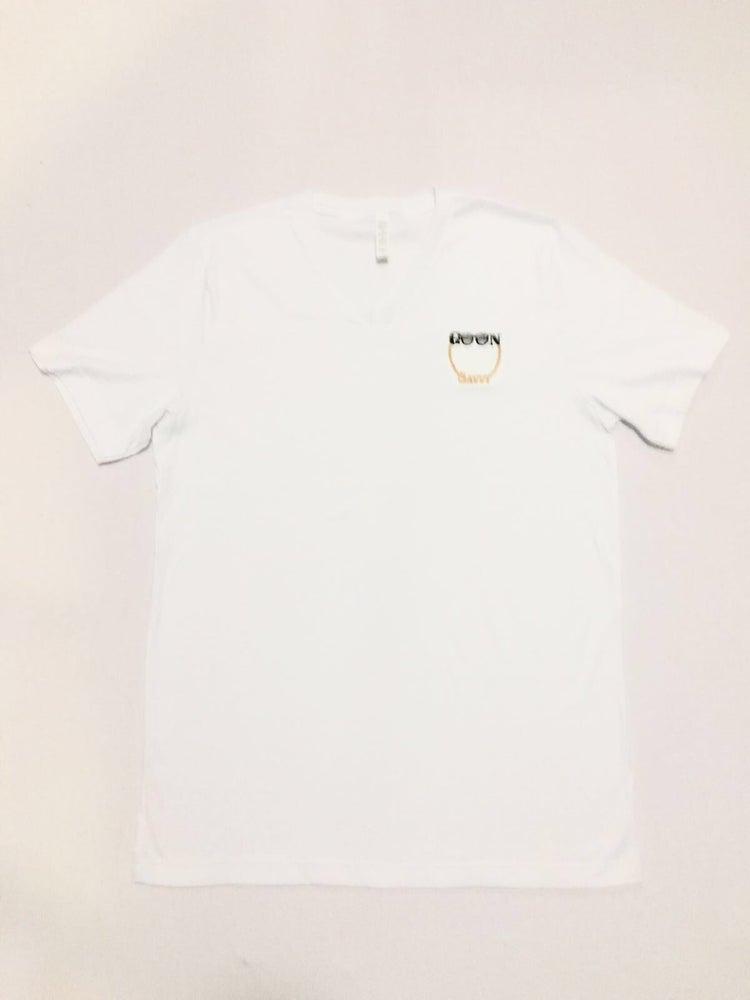 Image of White GOON Savvy V-Neck T shirt