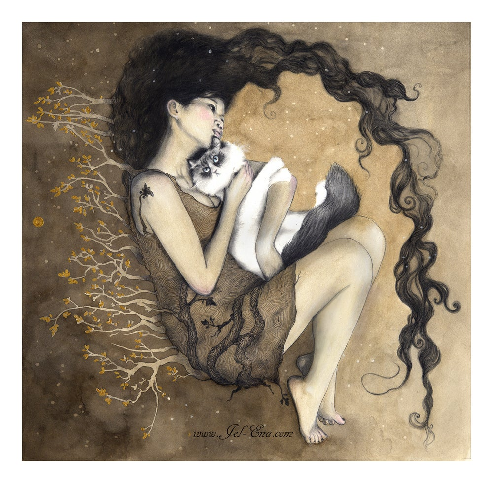 """Image of """"Rong"""" Limited Edition Fine Art Print"""