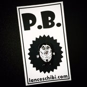 Image of P.B. Enamel Pin