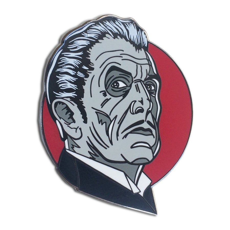 Image of King of Horror - Lapel Pin