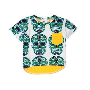 Image of SS16 <> T-shirt bébé garçon EFVVA « Skull Tee»