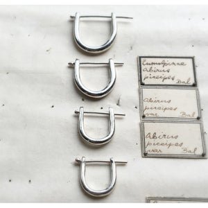 Image of EAR LOCKERS STERLING SILVER