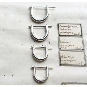 Image of EAR LOCKERS STERLING SILVER