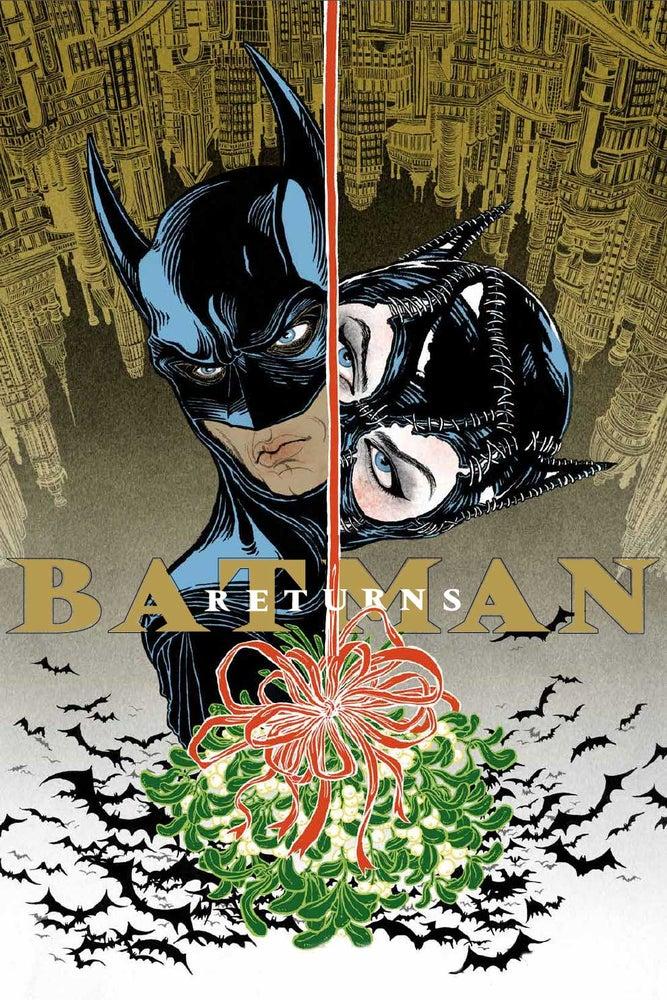 Image of BATMAN RETURNS limited edition large silkscreen print