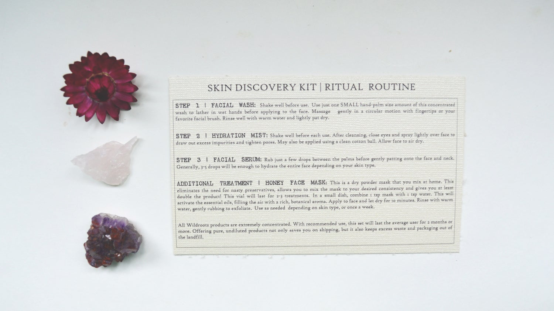 Image of :SKIN DISCOVERY KIT: FACIAL RITUAL