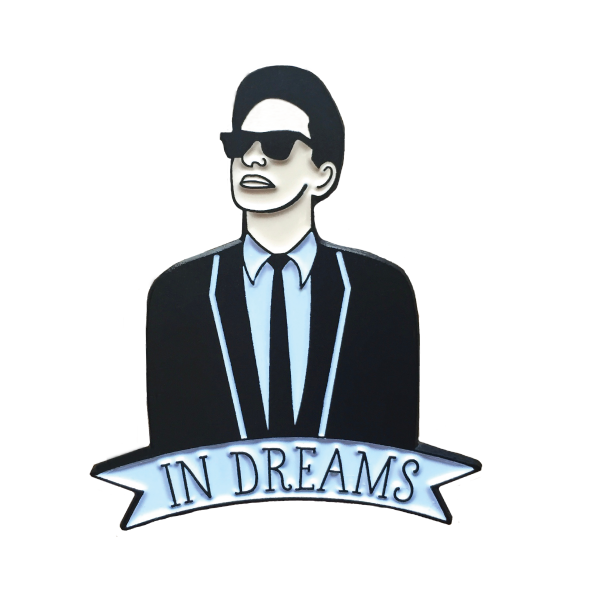 Image of Roy Orbison enamel pin