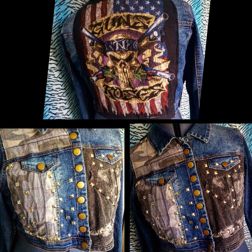Image of GN'R Plus Size Battle Jacket