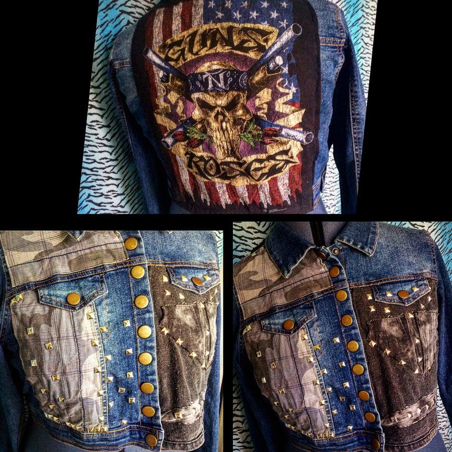 Image of GN'R Plus Size Battle Jacket