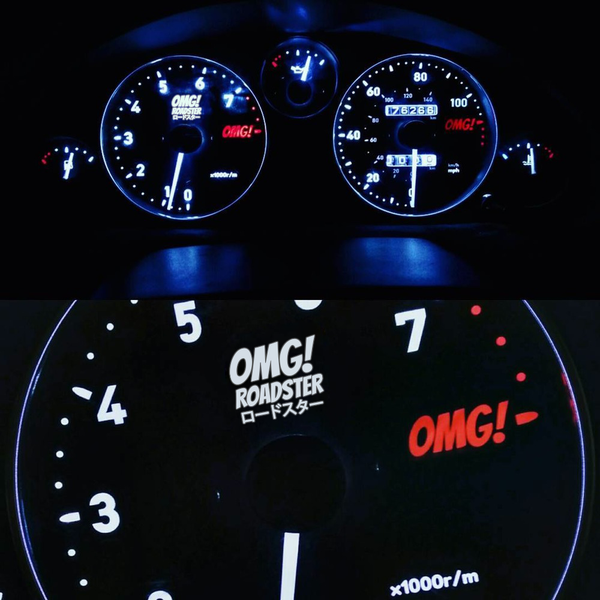 Image of OMG! Roadster Dials NA