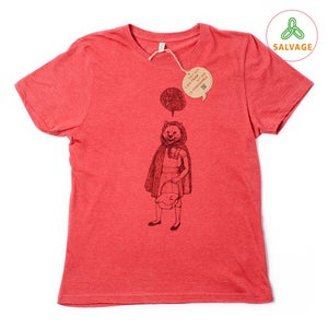 Image of RedHood Unisex Red T-shirt (Recycled)