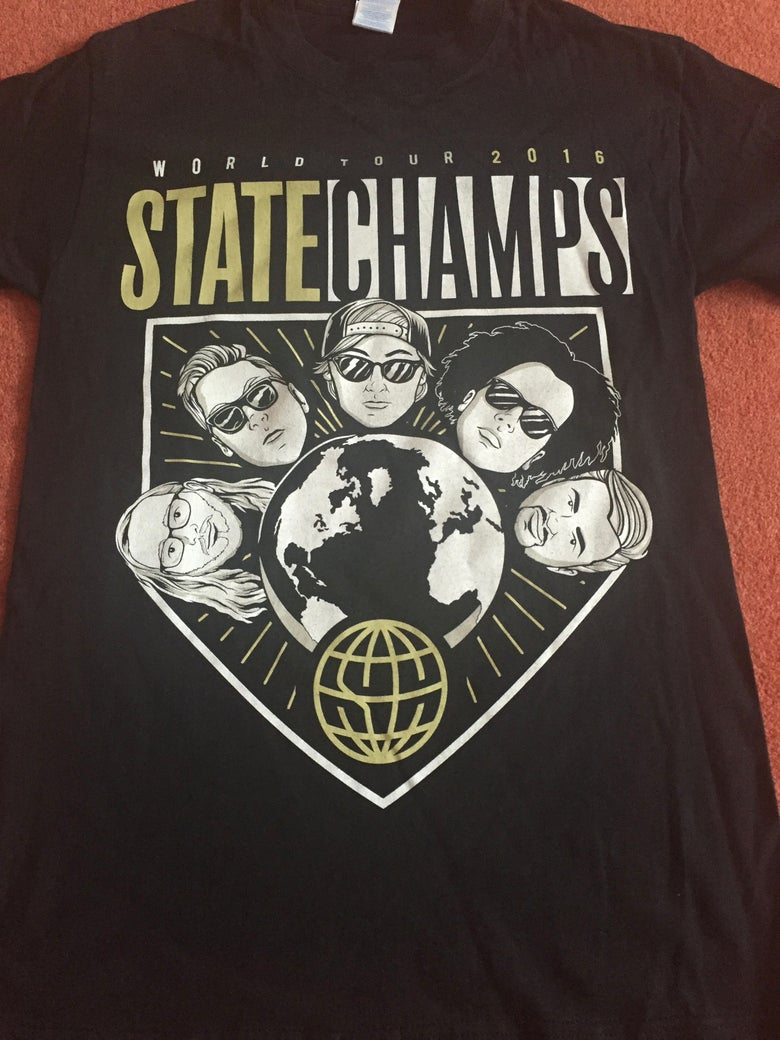 Image of STATE CHAMPS - 2016 UK TOUR SHIRT