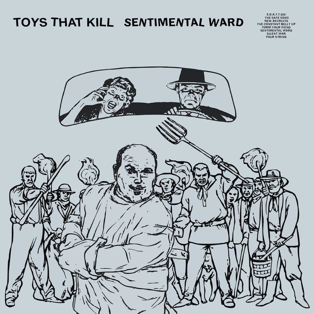 Image of TOYS THAT KILL - Sentimental Ward (LP+DL/CASS+DL/CD Digipak)