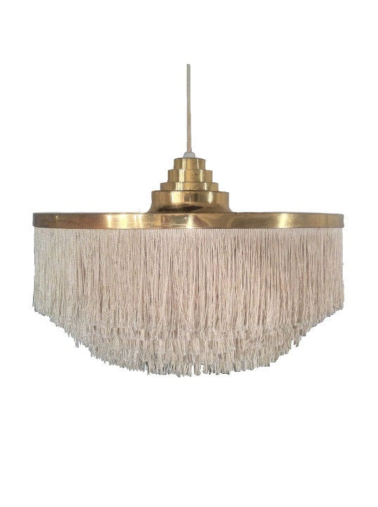 Image of Large Fringed Pendant Light by Hans Agne Jakobsson [Archive]