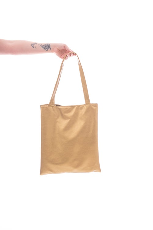 Image of GEO Bag metallic gold