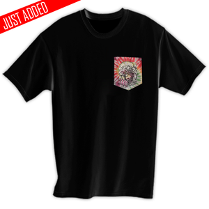 Image of Helmet Girl Pocket Tee
