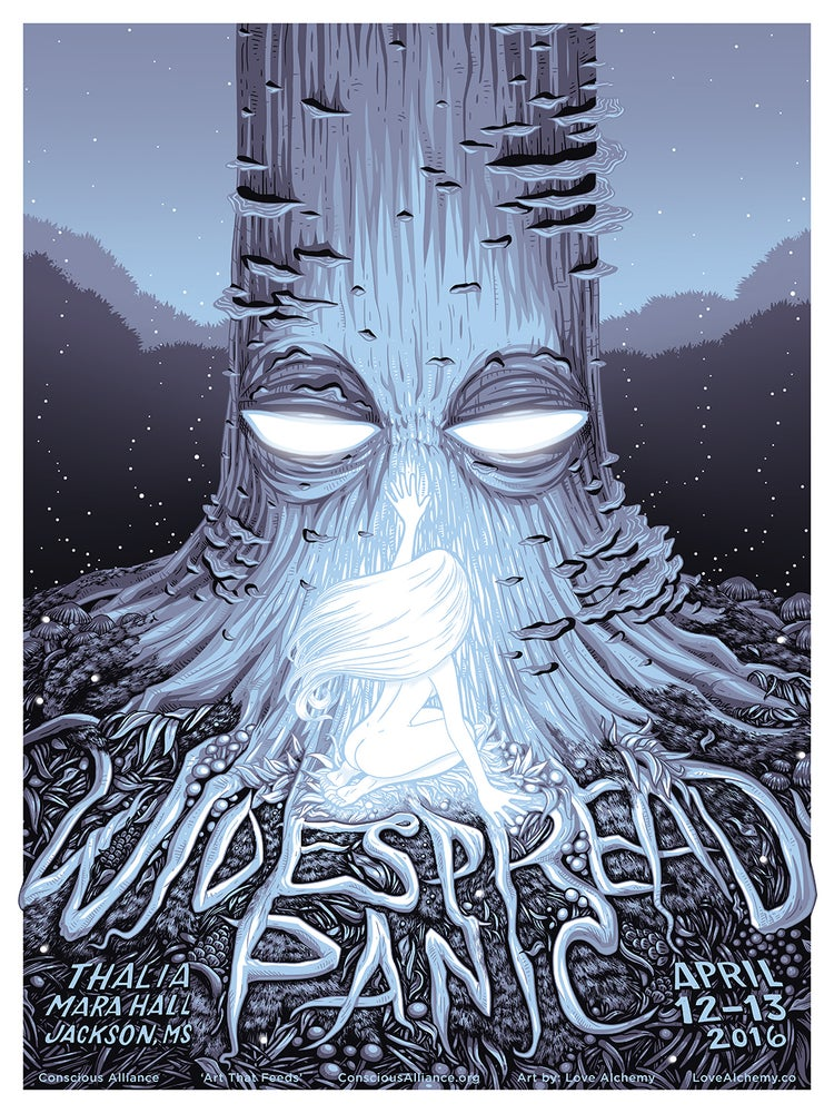 Image of WIDESPREAD PANIC POSTER