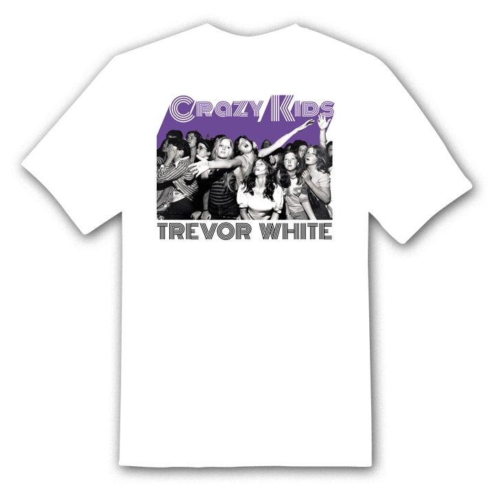 "Image of TREVOR WHITE ""Crowd"" t-shirt"