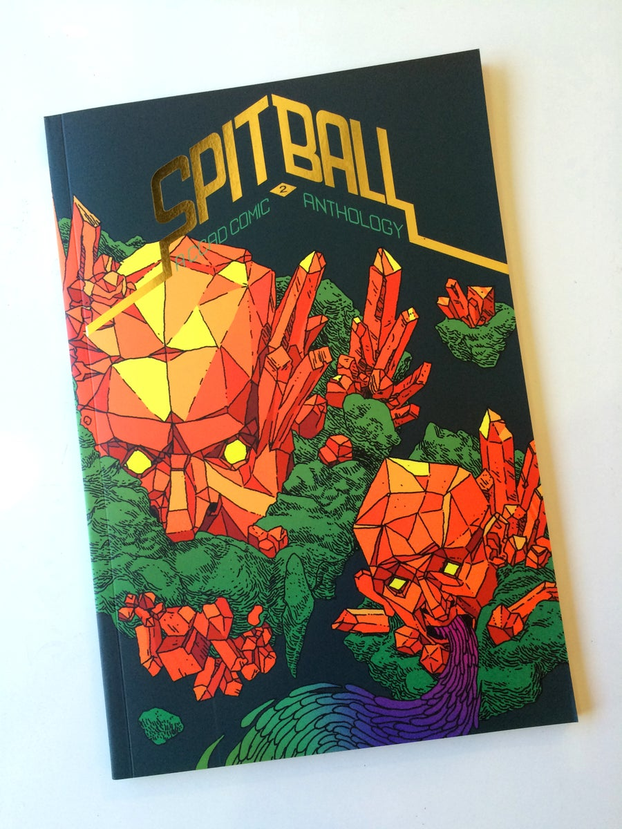 Image of SPITBALL 2 : A CCAD Comics Anthology