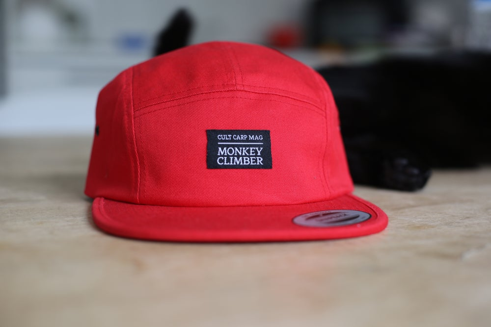 Image of Monkey Climber Cult 5 panel cap