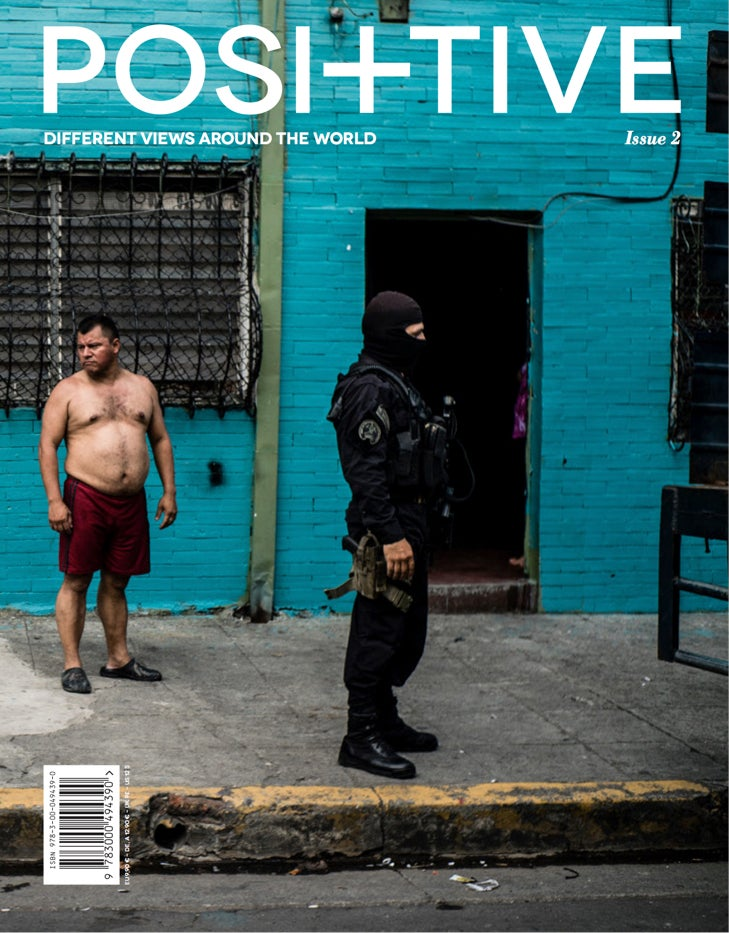 Image of POSITIVE MAGAZINE ISSUE 2