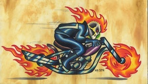 Image of Ghost Rider print