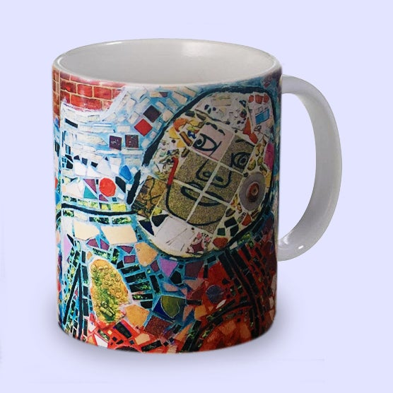 "Image of PMG Mug: ""Waving"""