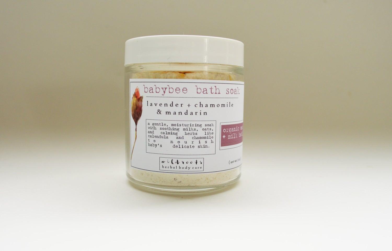 Image of :Baby bee bath soak: oat + milk