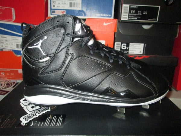 "Air Jordan VII (7) Retro Metal Cleats ""Blk"" - FAMPRICE.COM by 23PENNY"