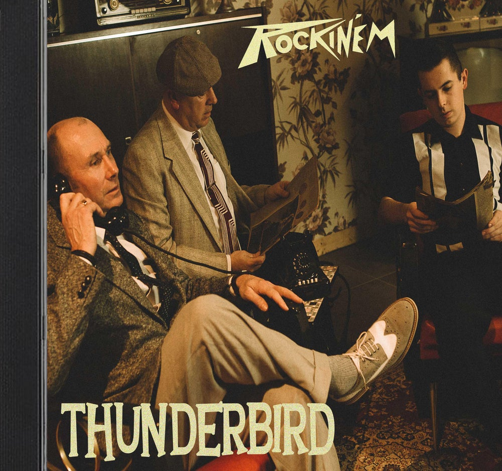 Image of Brand New CD ' THUNDERBIRD'.............OUT NOW !!