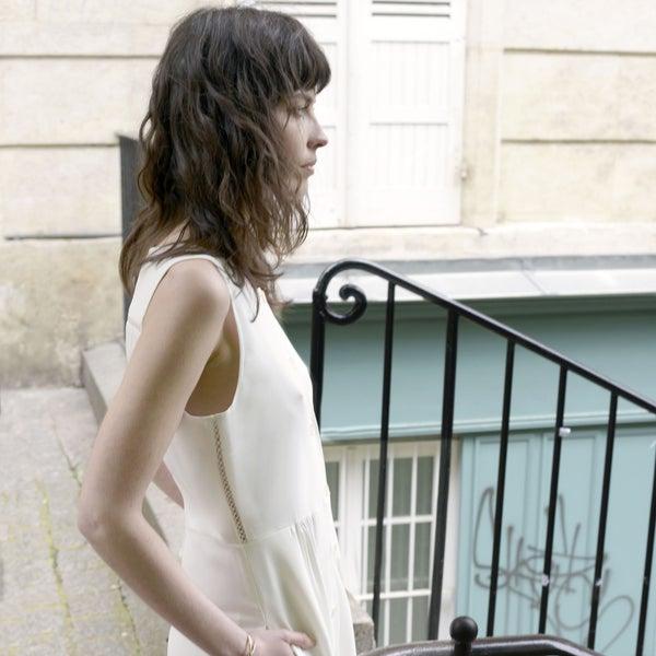 Robe Juliette écrue - Maison Brunet Paris