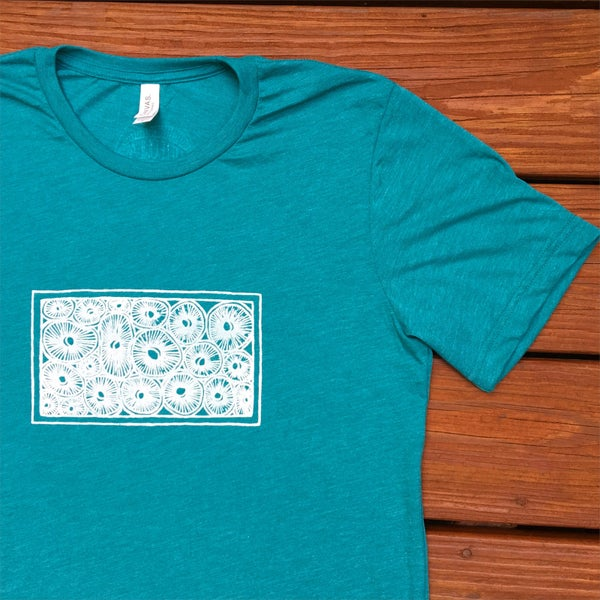 Image of Spore Side Up- men's triblend tee