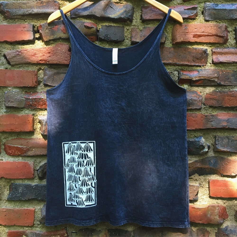 Image of Mushrooms- women's slouchy tank