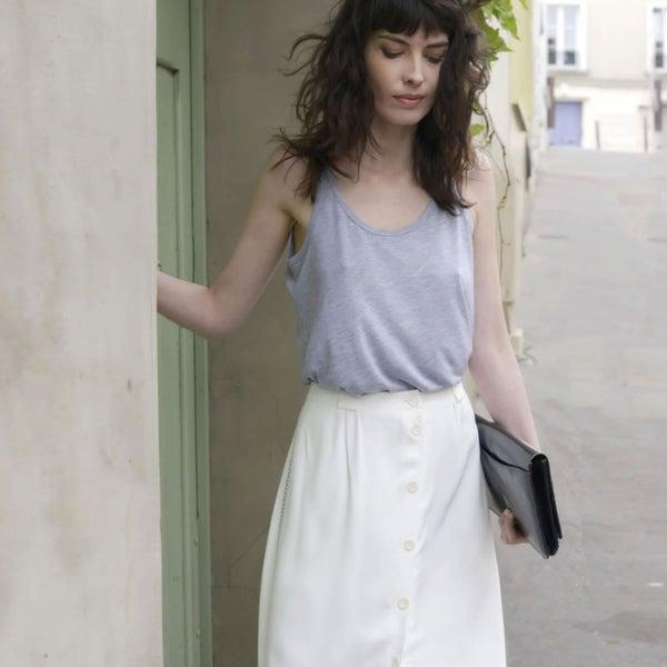 Jupe Hortense écrue - Maison Brunet Paris
