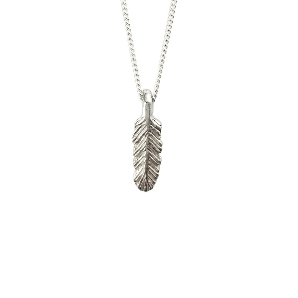 Image of Feather Necklace 3D mini