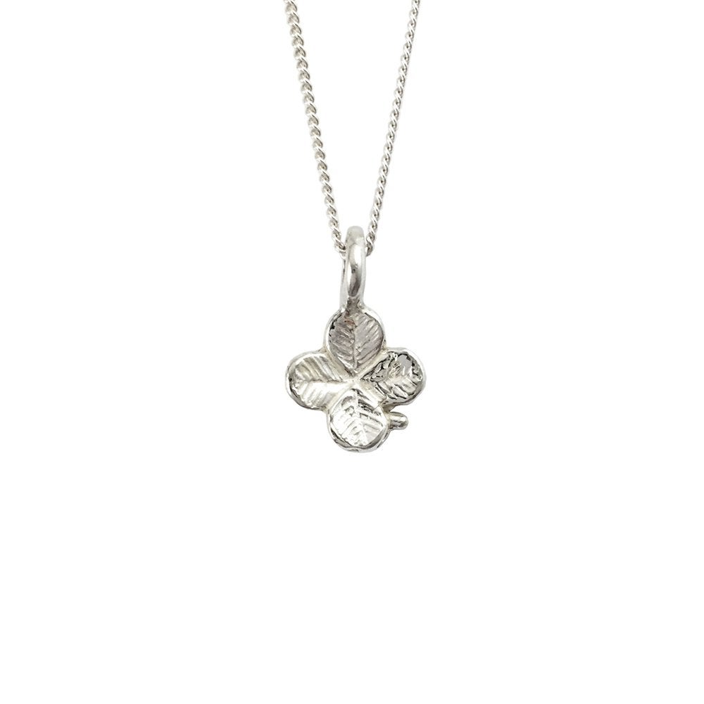 Image of Clover Necklace 3D mini