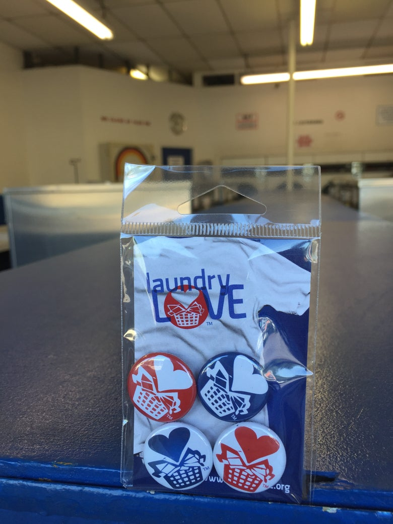 Image of Laundry Love Pins