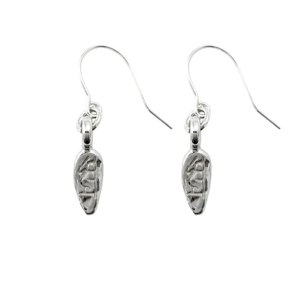 Image of Lotus Petal Necklace Sukha Earrings : Happiness