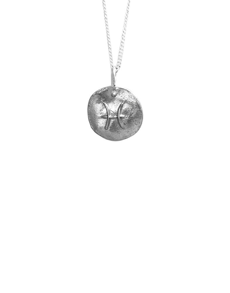 Image of Zodiac Medallion Necklace