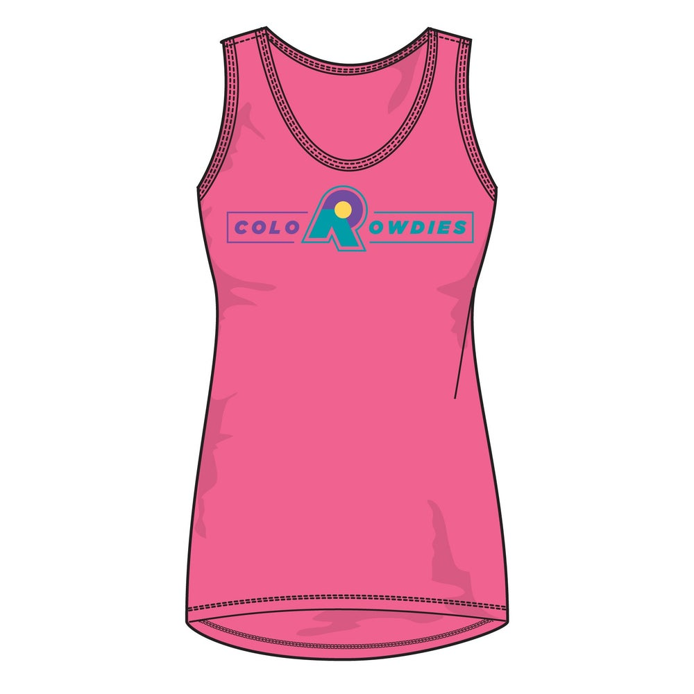 Image of Women's Box Logo - Pink