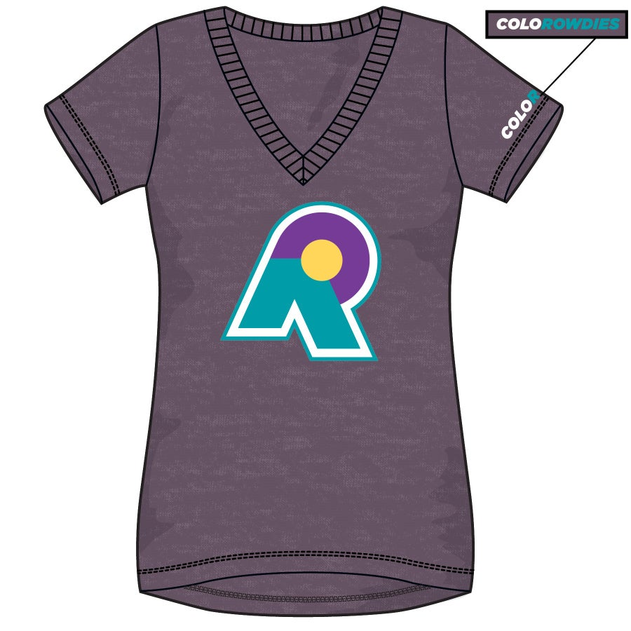 Image of Women's R Logo V Neck