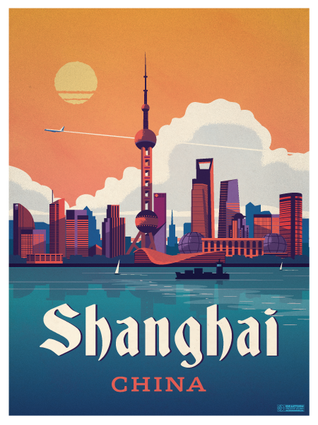 Image of Shanghai Poster