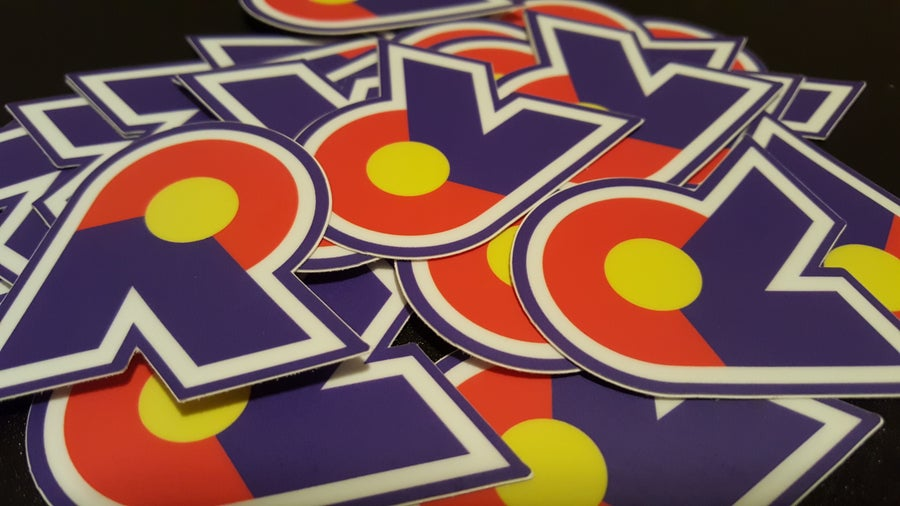 Image of R Logo Sticker