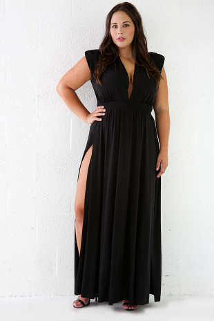 Image of Maxi Stretchy Dress
