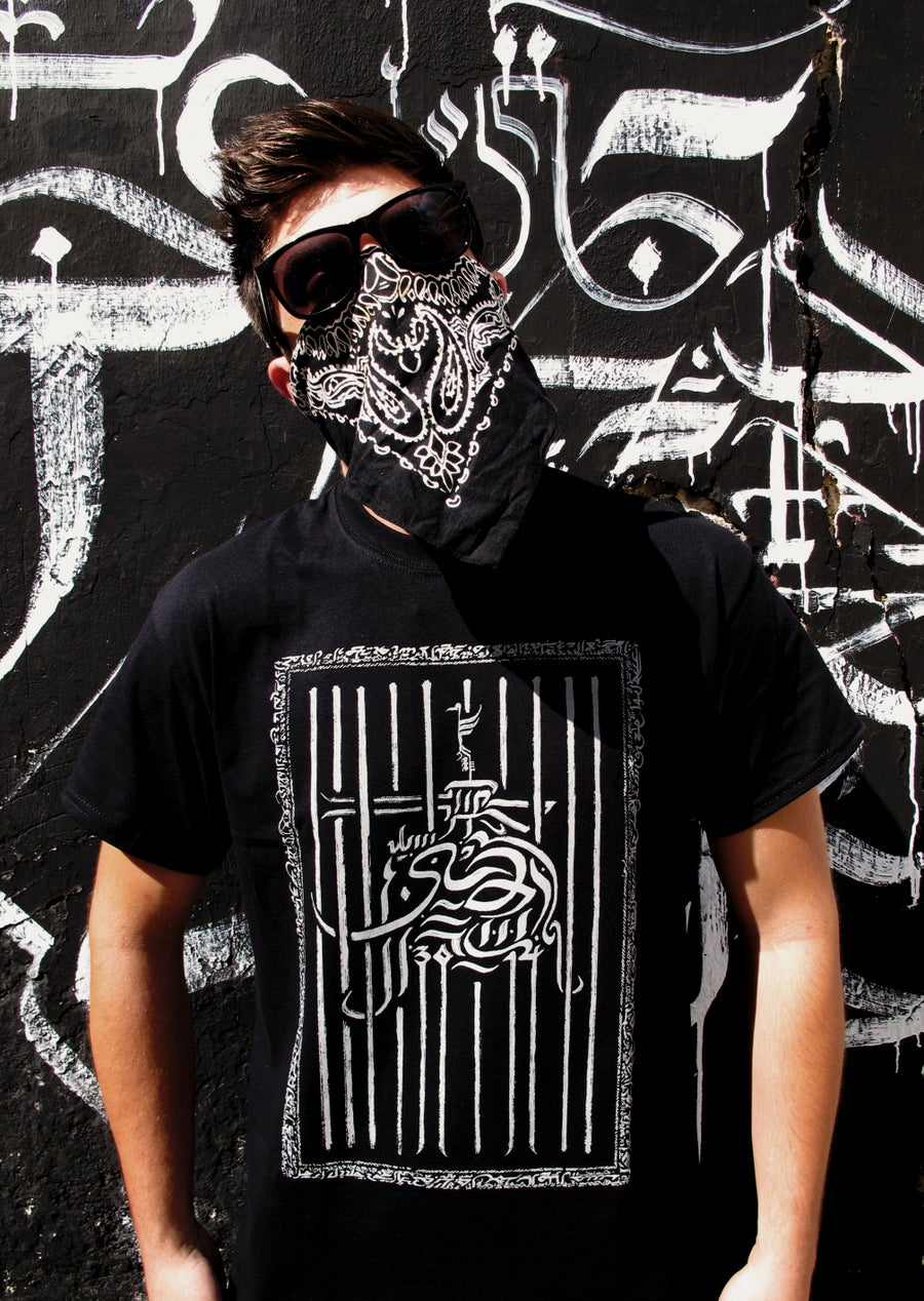 Image of Caged Gun t-shirt