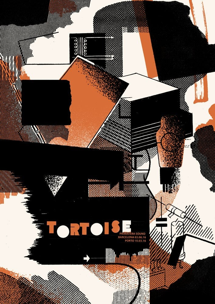 Image of Tortoise Poster - Primavera Sound Barcelona & Porto 2016