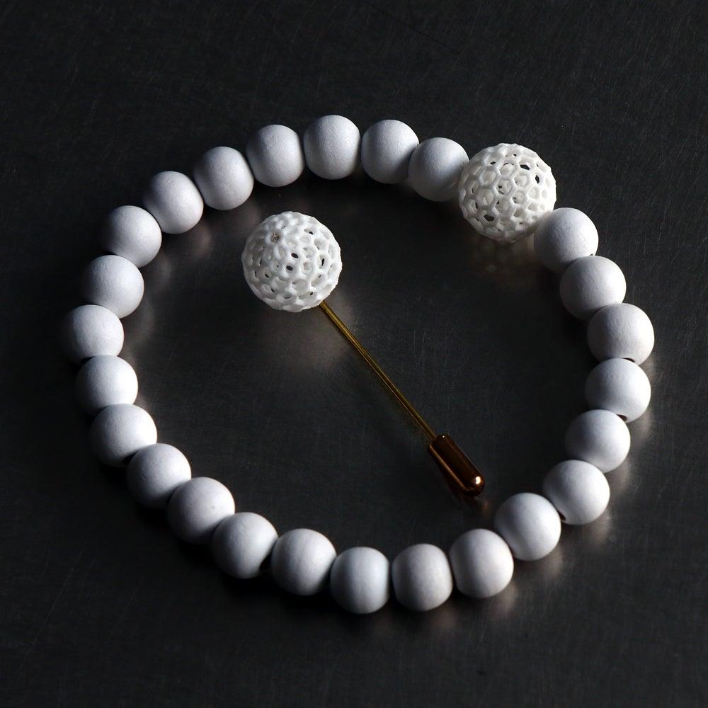 Image of 3D printed bracelet BEHAVE